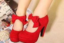 Shoes to die for. / High heels, flats, boots, everything about shoes!  / by Sherstin Schwartz