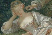 Art Rococo 1720-1785 / by Martha Smith Ⓥ