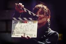 Sherlock BBC ㋡ Making of/Behind the scenes / Most of taken by fb fan pages. / by Renata Adler