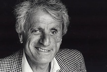 IANNIS XENAKIS / Iannis Xenakis (Greek pronunciation: [ˈʝanis kseˈnakis], Greek: Ιάννης Ξενάκης; May 29, 1922 – February 4, 2001) was a Greek composer, music theorist, and architect-engineer. After 1947, he fled Greece, becoming a naturalized citizen of France. He is commonly recognized as one of the most important post-war avant-garde composers.[1][2] Xenakis pioneered the use of mathematical models in music such as applications of set theory, stochastic processes and game theory and was also an important influ / by Spiro Carras