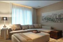 Salas de estar e salas de tv / by Zoy Maria