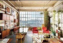Studios & Work Spaces / by Erica Parrott
