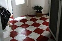 On the floor / Beautiful floorings and floor items. / by Marjut Mutanen