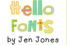 Font Love / by Melissa Bell