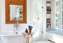 Bath / Where function meets beauty @ http://designingwhims.com/about/ / by Aegean Designing Whims