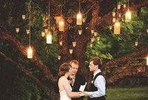 unique ✻ weddings / really cool and unique wedding ideas! / by YummiCandles.com