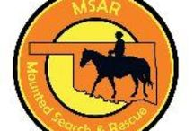 MSAR Mounted Search and Rescue / Oklahoma Mounted Search and Rescue,  see web site at OKMSAR.com for more information / by Bridlewood Equestrian