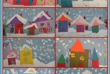 Homeschool Art - Lower Elementary / by Danika Cooley