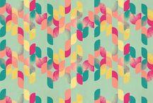 Colors & Patterns I adore / Color combos & pretty patterns  / by Greetings By Gerdie Gerdie Jean