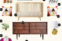 Nursery Ideas I Wish I Came Up With / by Esther @ buymodernbaby