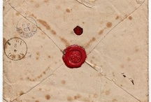 Letter Writing / Envelopes, Stationery, Stamps, and any other philatelic findings. / by Marissa Biven