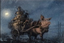 Pigs, pigs, pigs / by Raquel DeGamonal
