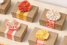 Gift Wrapping / by Krissy Schmidt