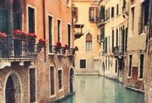 Italy / Rome, Venice, Florence, Torino and Tuscany, I love each and every inch of Italy! / by Rachel {Apple Brides}