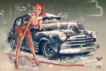 Pin-Up Girls / by Rance Kirk
