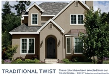 HGTV HOME™ Exterior Collections / Coordinate eight exterior collections with eight interior collections. / by Sherwin-Williams