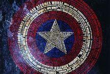 Captain America - Chris Evans / The Greatest Avenger / by Krystle Finke