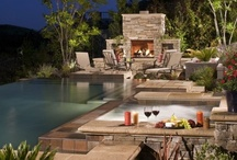 Outdoor and Pool Areas / by Brittany