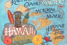 Around the USA-Hawaii / by Marti' Shannon