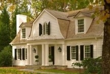 Dream Homes & Exterior Ideas / by Stacie Ward