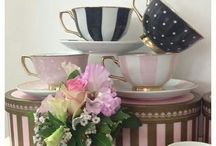 Just Tea Cups / My love of Tea Cups ☕️ / by Jenny Marchesan