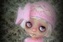 Blythe dolls / Why oh why do I like these dolls so? I've never seen one in person & have 4,500 plus pins on my board. It's the eyes, the eyes they look right through me. And each in it's own style is an expression of it's owner. What would my doll look like? I think I keep pinning looking for me. / by Shannon Beaupre