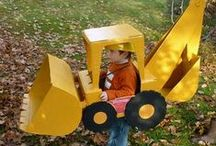 Construction-Themed Halloween Costumes / by Carter Machinery