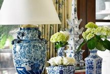 Blue and White  / by Mary Councill