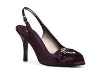 wedding shoe options (purple and silver) / by Amy Shea