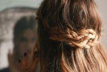 Hair done... / Hair to braid. / by Shannon Ryan
