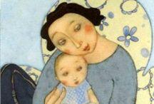 Art . . Mother and Child / by Francine Schwartz