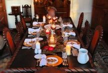 Holiday Party  / Thanksgiving tablescape, diy home decorating, holiday party get ready / by Nubry