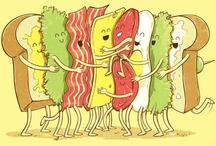 Food Fun / clever & creative edibles + food art / by Leah Lenz