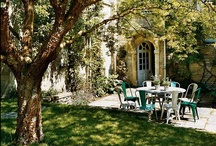 Dreaming Of A Courtyard / This is what I will build some point in my life. I love homes with private courtyards.  / by Terri Altherr