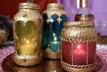 Morocco Madness / Morocco Pink,purple, teal, orange,gold / by Zizi Bright