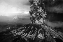 """Volcanoes / """"Most volcanologists die in bed."""" - Volcanologist Maurice Krafft.  / by Janinpan"""