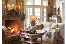 COZY HEARTH, Mantel decor,& candles        / by Laura Marec