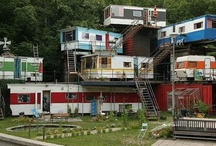 mobile homes / by Jackie Hall