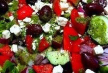 Salads, Slaws, Salad Dressings And Salad Toppings / Special Salads, Dressings And Toppings For Salads! / by Linda Miller