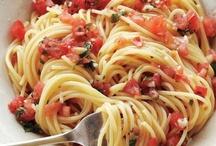 Pasta ~ Noodles ~ Potatoes ~ Grains ~ Rice ~ Beans ~ Legumes / by Linda Miller