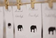 Wedding: Escort Card WOW / by Nancy Liu Chin