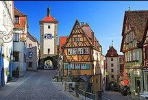 Places to Take Mom: Bavaria and the Alps / Her dream has always been to travel, and I'd give anything to take her around the world. This stop: the land of castles and alps: Bavaria, Vienna, and the Swiss Alps. And of course, my sweet KIMMY F. and her family!  / by Tracy Dyer