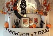 HOLIDAY   halloween / halloween decor, activities, costumes and trick-or-treat ideas / by Sara Zaugg