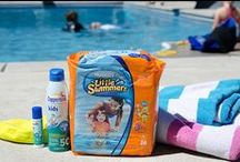 Summertime Essentials {Huggies Little Swimmers} / #huggiesSwimmers #PMedia  / by Pollinate Media Group®