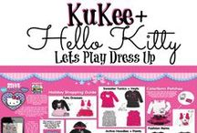 Kukee - Hello Kitty Let's Play Dress Up!  / Cute clothing and style for little girls.  / by Pollinate Media Group®