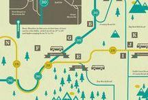 Illustration- Maps / by Joanne Kim Milnes
