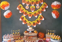 Candy Corn Birthday Party / #candycorn / by The Cards We Drew
