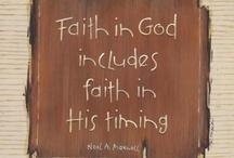 Faith Based / by Lisa Cahanap