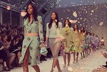 The Best of London Fashion Week Spring 2014 / From the catwalk to the sidewalk, we've got the best the London shows have to offer.  / by POPSUGAR Fashion