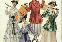 Fashion 1910 / Fashions of 1910 / by Moz B